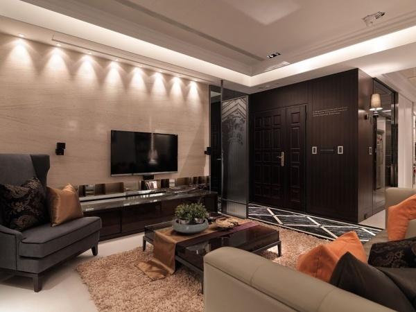 美式風格三室兩廳設計圖大全
