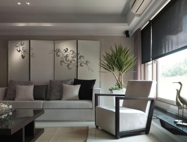 2015現代日式風格客廳效果圖大全