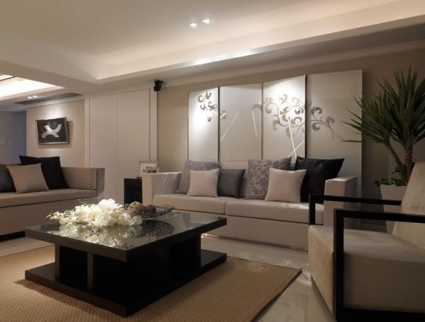 現代日式家庭客廳圖片大全