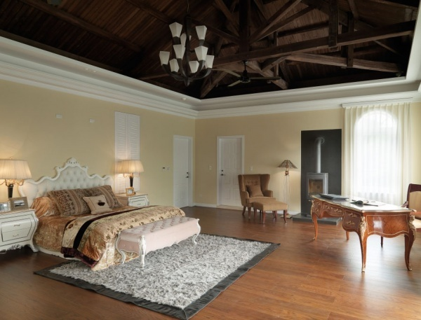 歐式復式設計臥室圖片大全