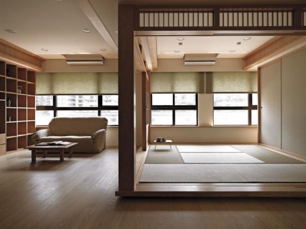 2015日式风格客厅装修效果图