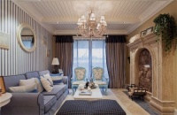 华腾园-地中海风格-二居室