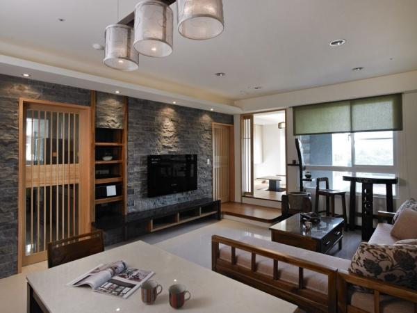 日式风格装修小客厅效果图