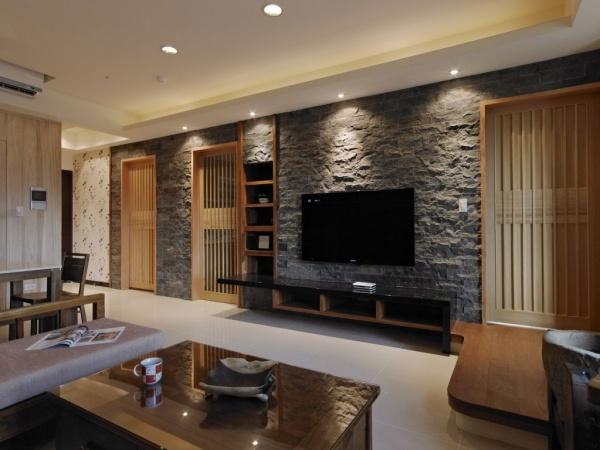 石材电视背景墙设计效果图