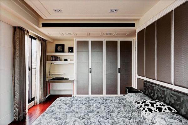 中式风格卧室衣柜图片大全