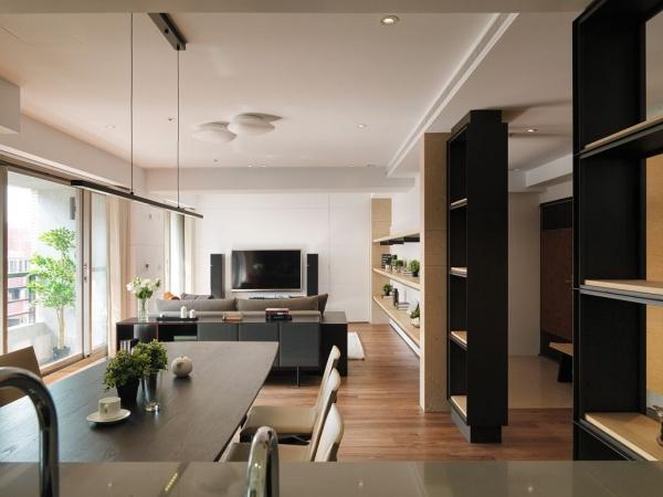 日式现代风格房子装修效果图
