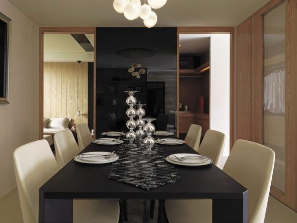 現代日式風格餐廳室內設計效果圖