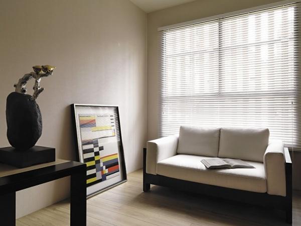 現代日式風格室內窗簾設計效果圖
