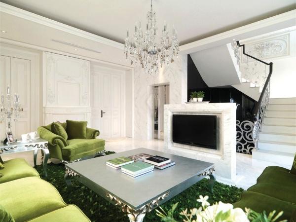 最新欧式房屋室内装修效果图