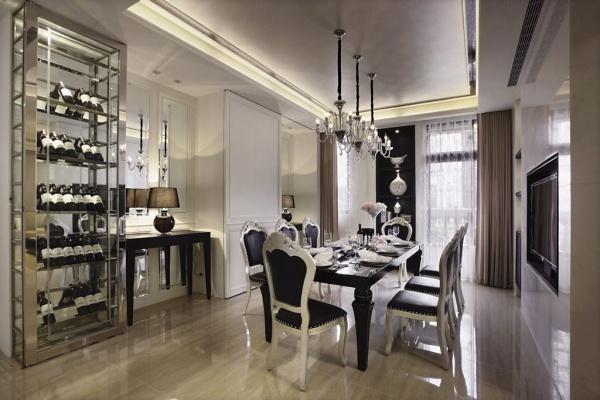 古典欧式风格餐厅设计图欣赏