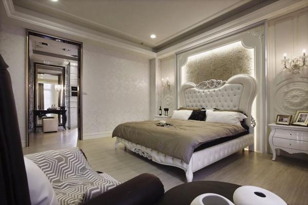 古典欧式时尚卧室效果图欣赏大全
