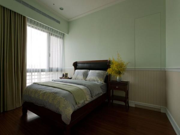 美式家裝設計小臥室圖片