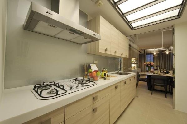 北欧风格设计厨房图片欣赏大全