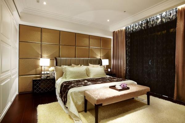 美式現代風格裝修臥室圖片大全