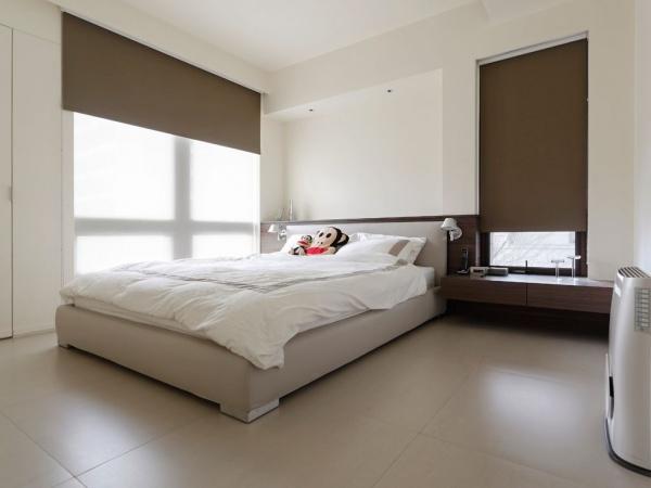 60平米简约公寓室内卧室装修效果图片