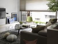 北歐風格兩室兩廳設計效果圖大全2015大全