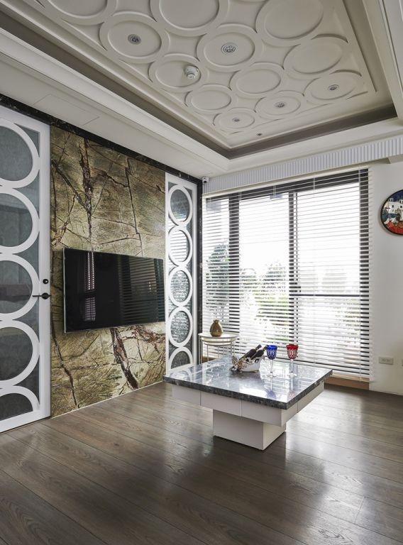 简欧装修设计电视背景墙效果图大全