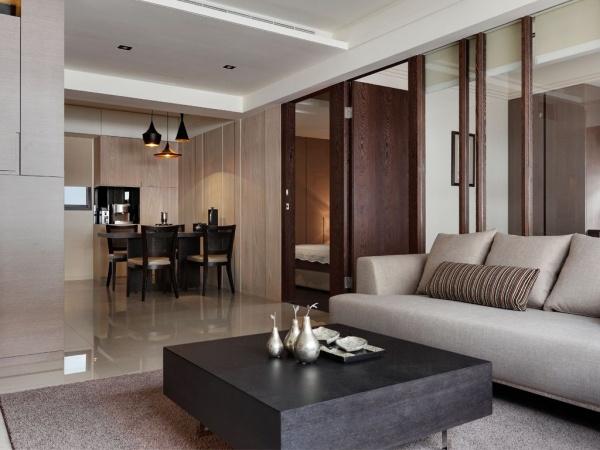 現代日式風格兩室兩廳裝修圖片大全
