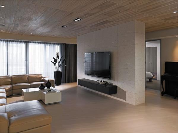 現代日式風格四居室設計圖大全
