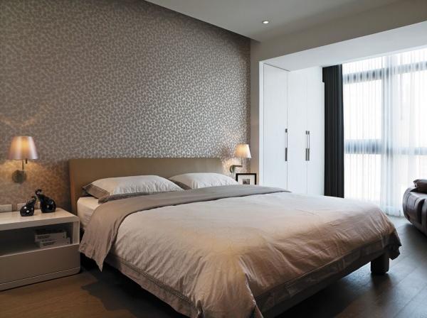 現代日式風格裝修臥室效果圖
