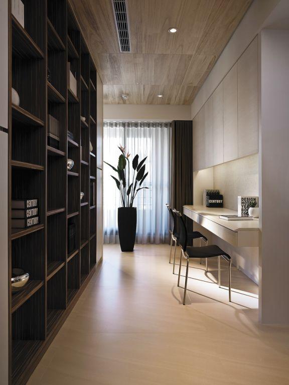 現代日式裝修設計書房圖片欣賞