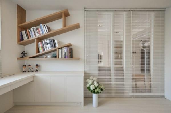 装修设计 > 最新日式风格四居室装修效果图   日式清新风格窗帘设计图