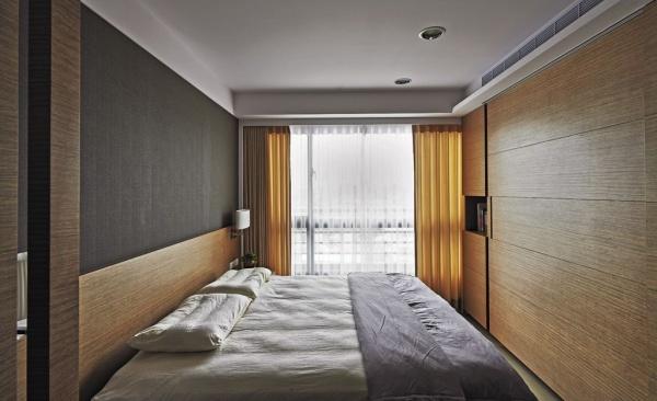 60平米日式一居室卧室装修效果图片