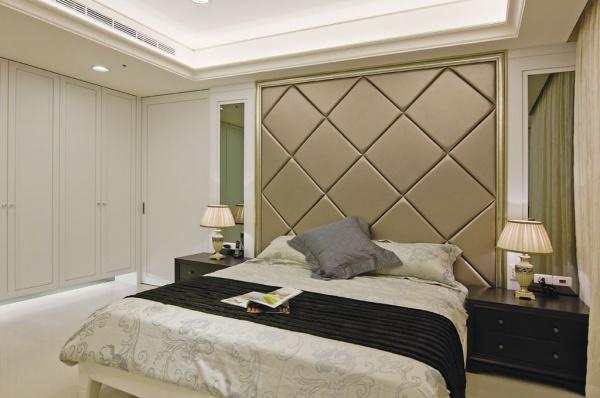 北欧风格时尚卧室设计效果图