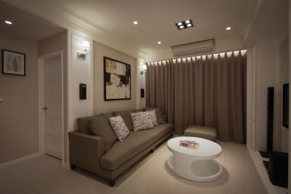 现代日式风格客厅设计图大全