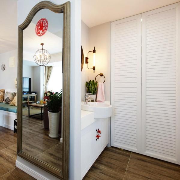 70平米简欧风格两居室设计装修效果图