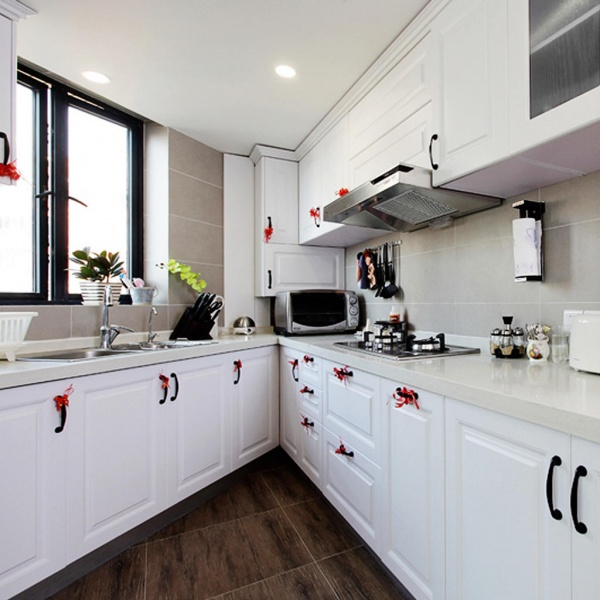 70平米简欧风格厨房设计装修