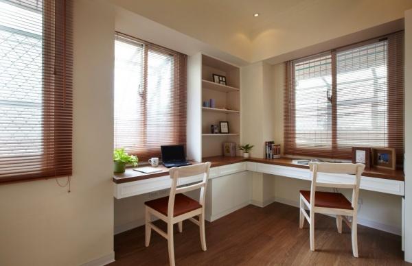 美式风格三居室创意装修效果图图片