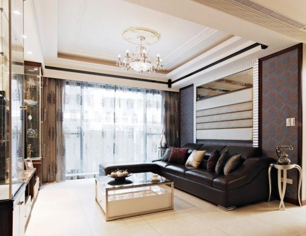 现代风格客厅装修效果展示图