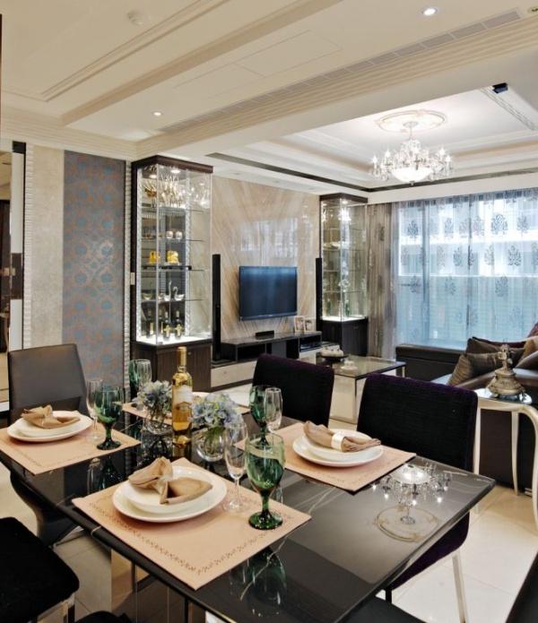 现代风格浪漫餐厅设计图大全