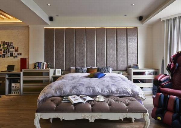 現代日式裝飾臥室圖欣賞