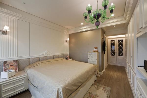 新古典卧室背景墙_家居装修设计网
