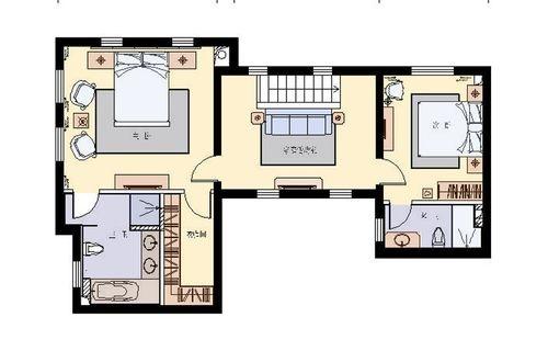 高尔夫别墅(380平)美式古典风案例赏析