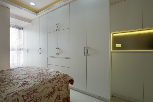 家庭设计室内卧室衣柜效果图