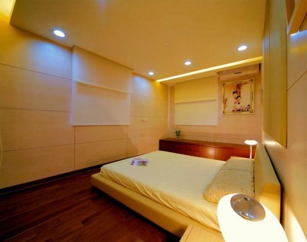 最新日式现代风格卧室装修图片