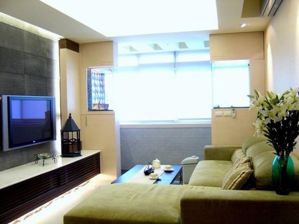 日式现代风格客厅装修图片