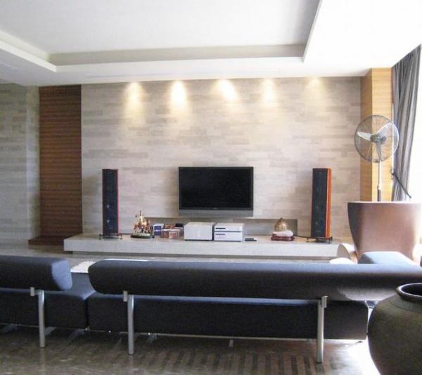 现代电视背景墙室内设计效果图