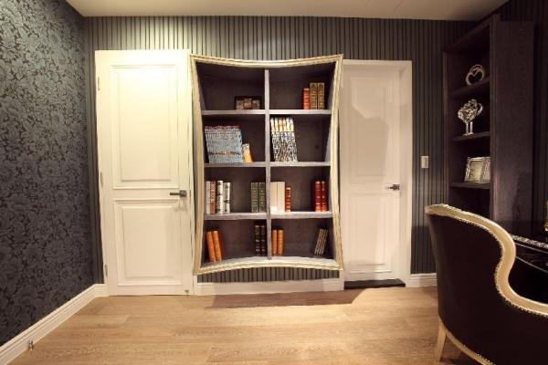 欧式书柜设计大全