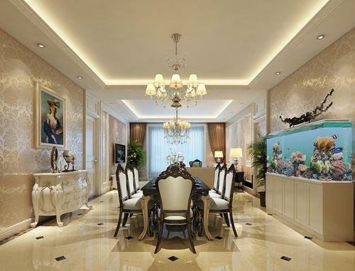 地面装饰客餐厅及门厅采用大理石