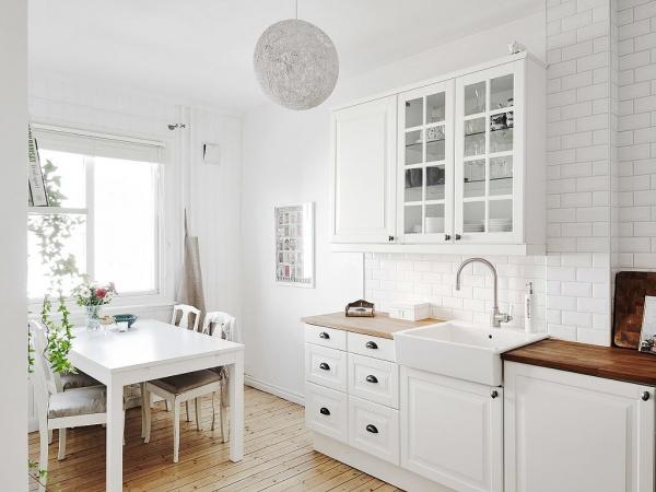 简洁自然北欧风格小户型装修_家居装修设计网
