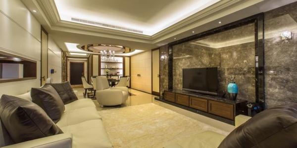 现代风格四居精装房装修图片