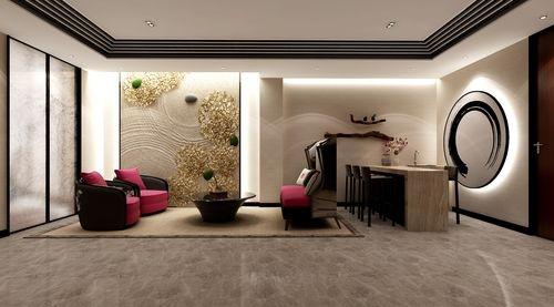 背景墙的设计以及陈设的摆设,配饰的融合都是要有一定的想法.