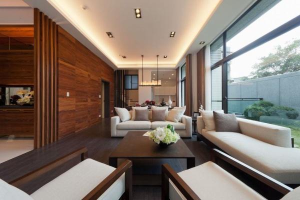 美式别墅样板房_家居装修设计网