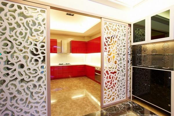 三室两厅两卫装修效果图现代风格