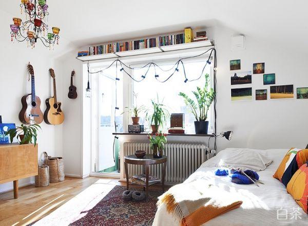 北欧风格单生公寓装修效果图图片
