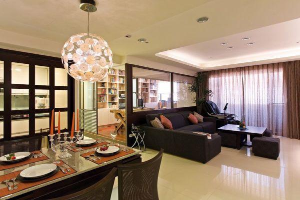 120平现代家居三居精致装修设计